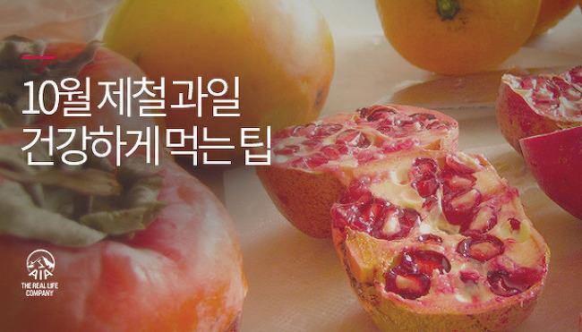 가을은 결실의 계절! 10월 제철 과일 건강하게..