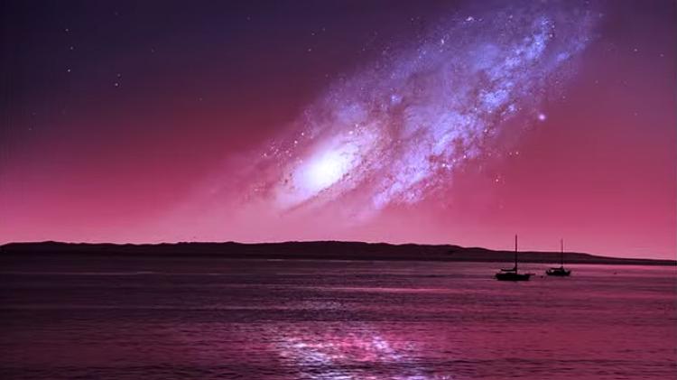 별들의 고향 은하 속으로