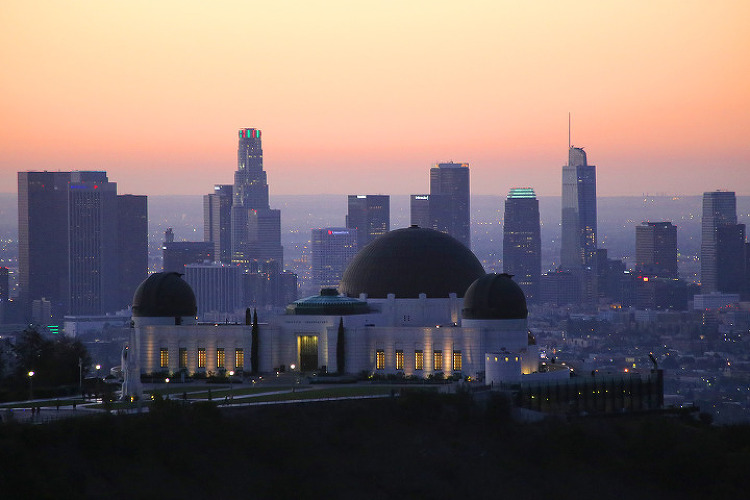 'LA의 남산공원'이라 할 수 있는 그리피스파크(Griffith Park)의 마운트헐리우드(Mt. Hollywood) 등산