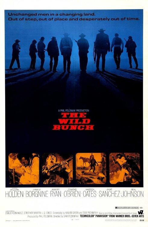 와일드 번치(The Wild Bunch)... 샘 페킨파, 윌리엄 홀덴, 로버트 라이언... 화끈한 서부영화 아련한 여운