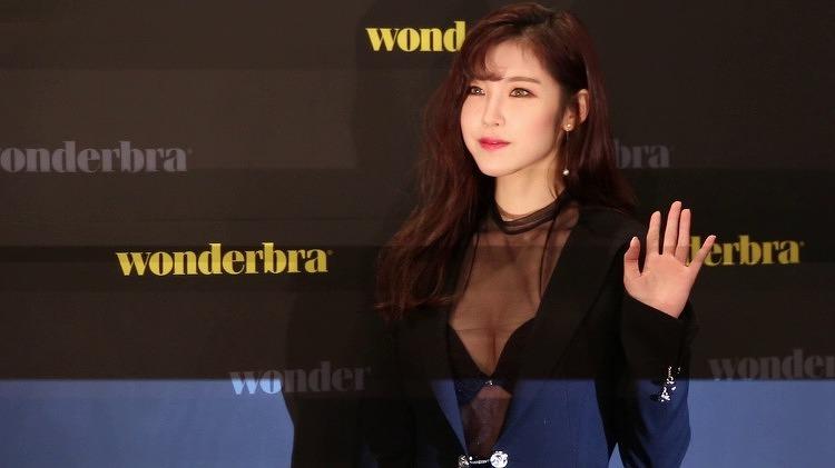 전효성 Wonderbra 시스루