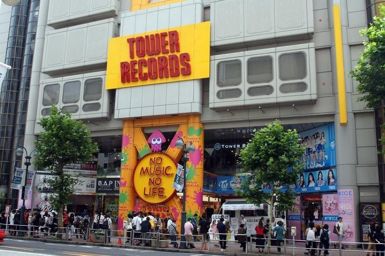도쿄 여행 이야기 (10) 시부야 타워레코드,버스환승센터