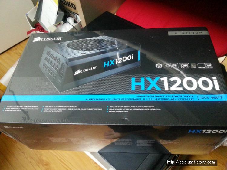 CORSAIR HX1200i : 1200와트 파워는 처음