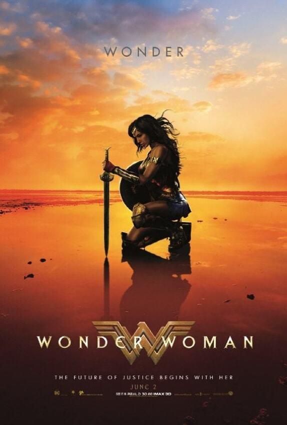 영화 '원더 우먼 Wonder Woman, 2017' 세상의 전쟁을 끝내려는 갤 가돗