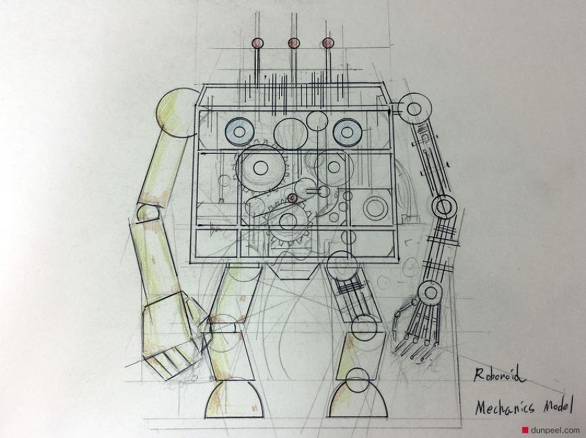 로보노이드 메카닉 모델 (Robonoid Mechanics Model)