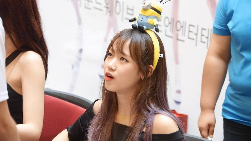 160813 분당 I.O.I 팬싸인회 직캠 by ace