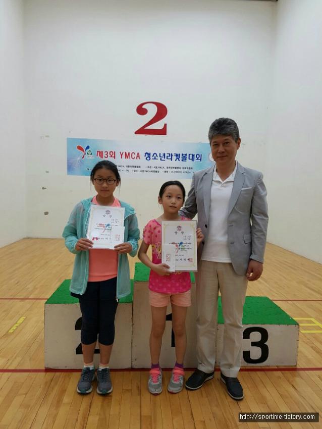 [YMCA 청소년 라켓볼대회] 수상을 축하합니다!