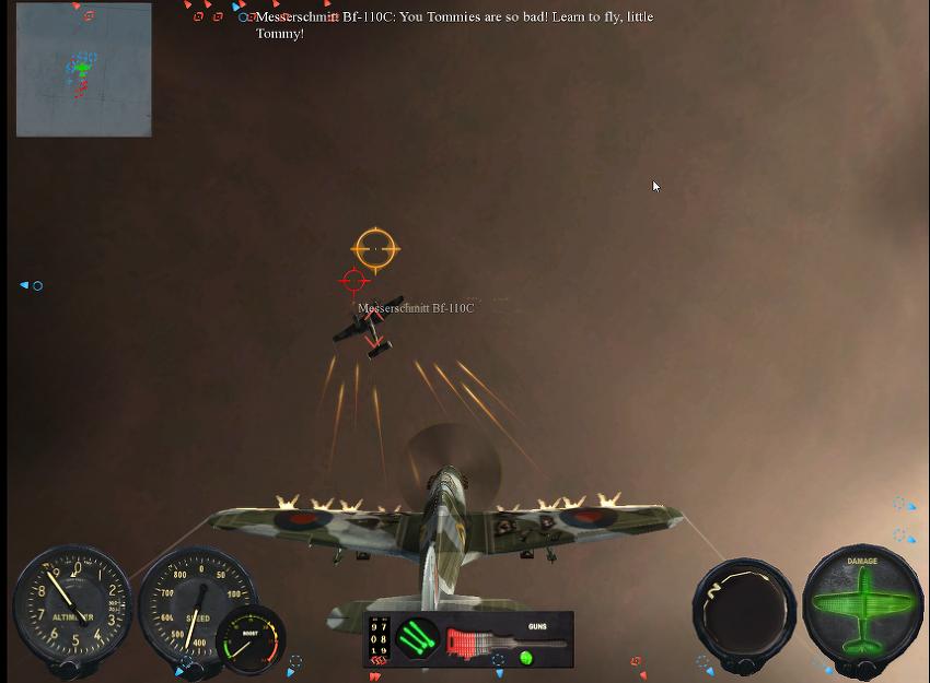 스팀 게임 <Combat Wings : Battle of Britain>