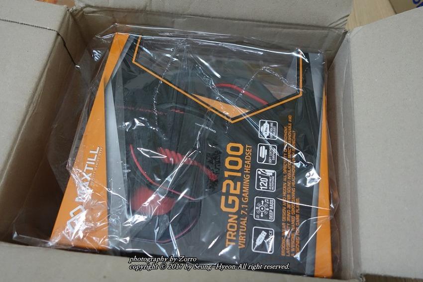 맥스틸 TRON G2100 헤드셋