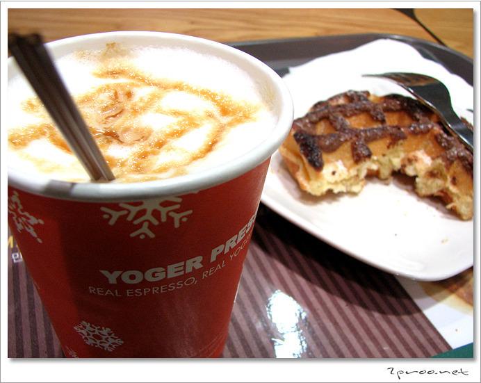 요거프레소, 신선하고 맛있는 커피와 와플을 즐길수 있는 커피전문점