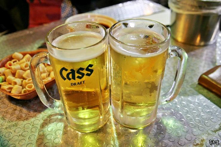 시원한 맥주