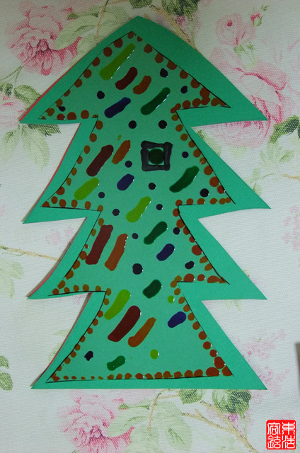 크리스마스 카드 만들기