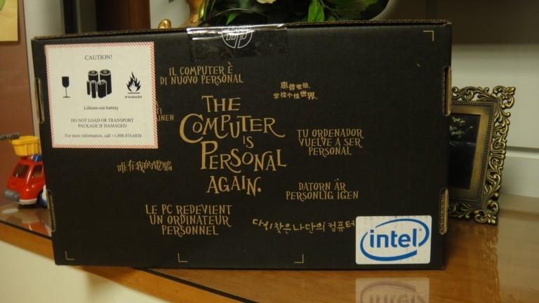 HP mini 311 box