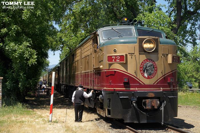 달리는 미식열차~ 나파밸리 와인트레인