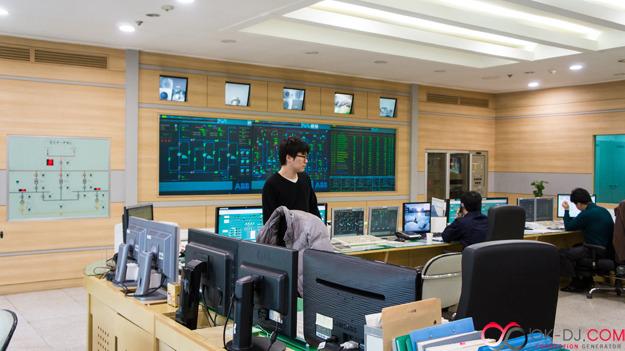 한국지역난방공사 고양지사 통제실