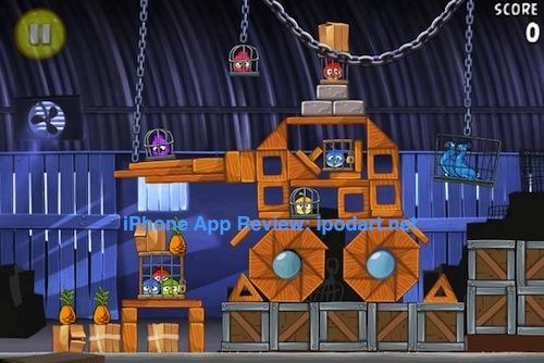 아이폰 슈팅 퍼즐 Angry Birds Rio