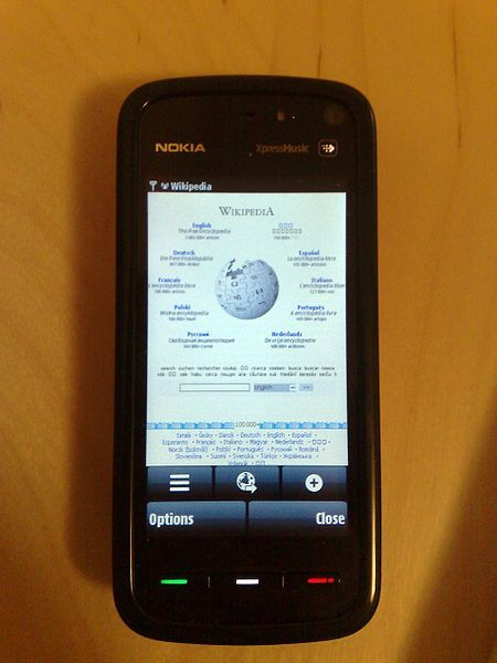 File:Nokia_5800_XpressMusic_Browser.jpg http://en.wikipedia.org/wiki/File:Nokia_5800_XpressMusic_Browser.jpg
