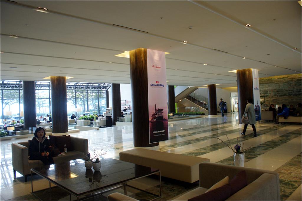 호텔 로비 사진