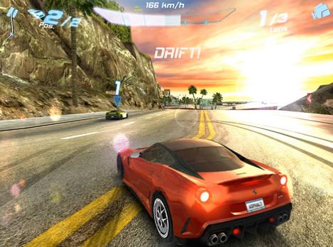 아스팔트7 : iOS 최고의 레이싱 게임!