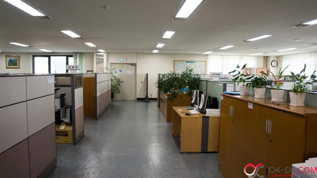 한국지역난방공사 고양지사 사무실