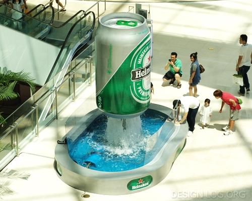 하이네켄(Heineken) OOH 미디어 사례