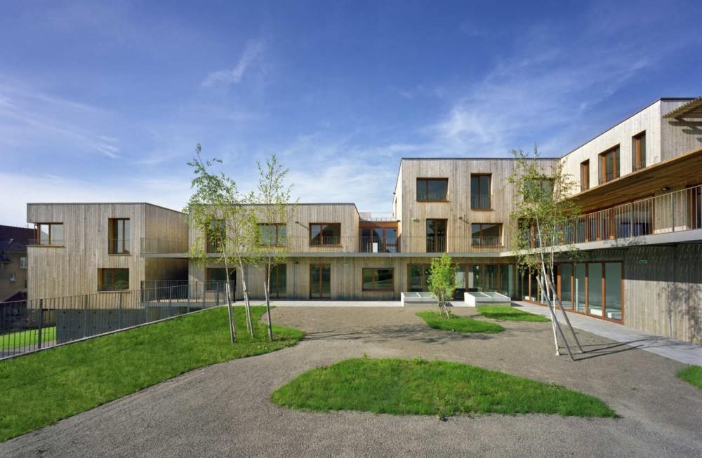 Nursing home architecture