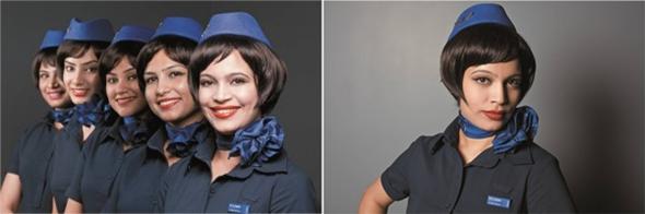 인디고항공의 새로운 유니폼과 헤어스타일 (New Look)