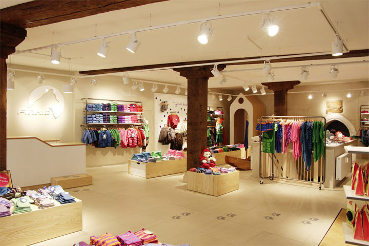 FINKID children clothing concept store by The Store Designers, Erfurt