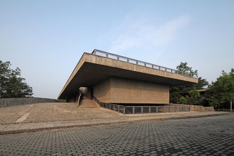 Atelier fcjz museum bridge in for Sichuan cendes architectural design company limited