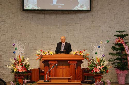 남북중앙교회 이사장 강연