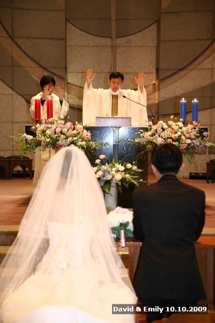 ... 성찬의 전례 Emily & David - Life/Wedding Story 2010/03/26 02:20