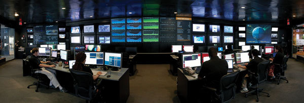 Akamia의 NOC(Network Operating Center)