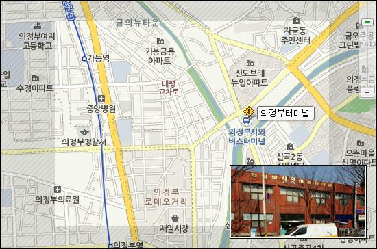 의정부시외버스터미널 위치