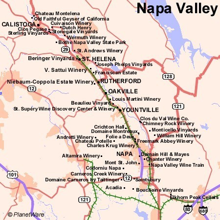 Wine Tours In Napa California August