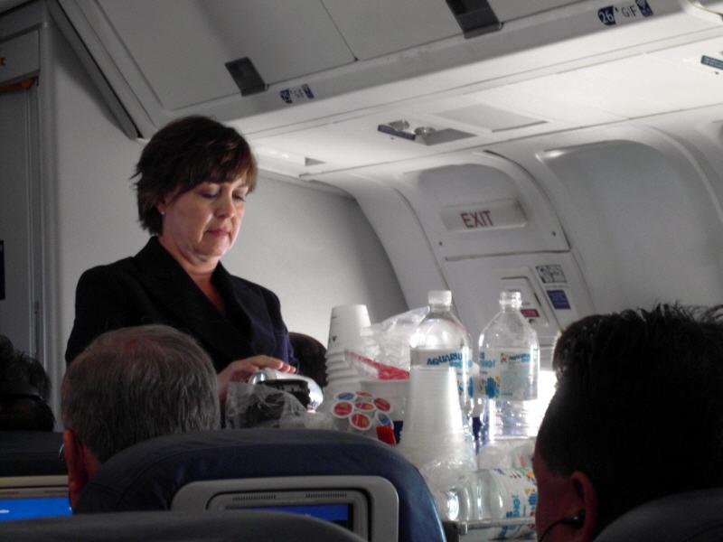 델타항공 기내음료