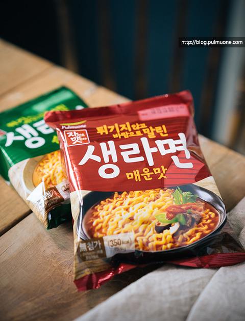 라면과 김치의 환상궁합...김치국물라면 vs 김치비빔라면 요리법!