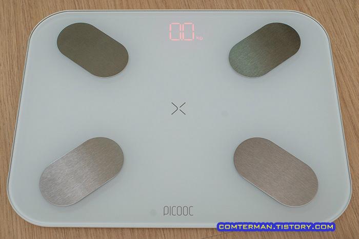피쿡 스마트 체중계 LED