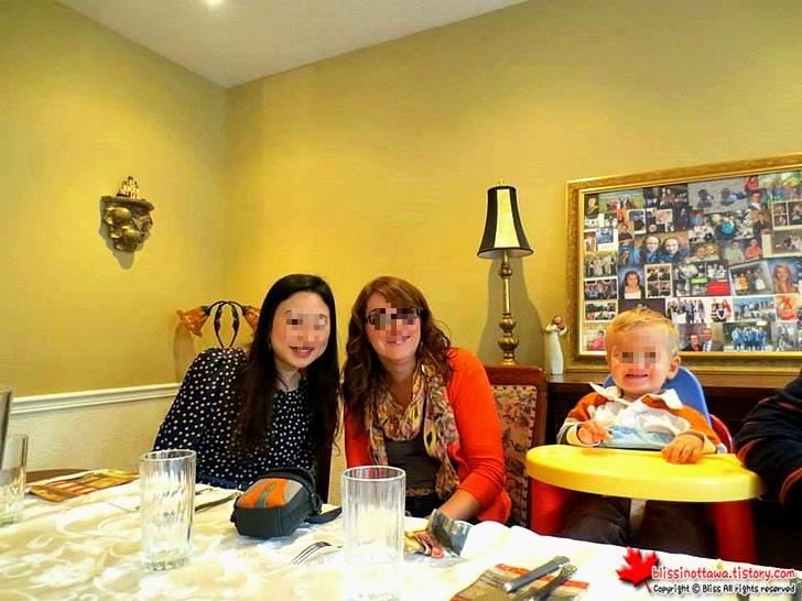캐나다 추수감사절 디너 파티