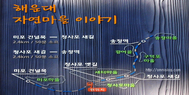해운대-미포-청사포 자연마을