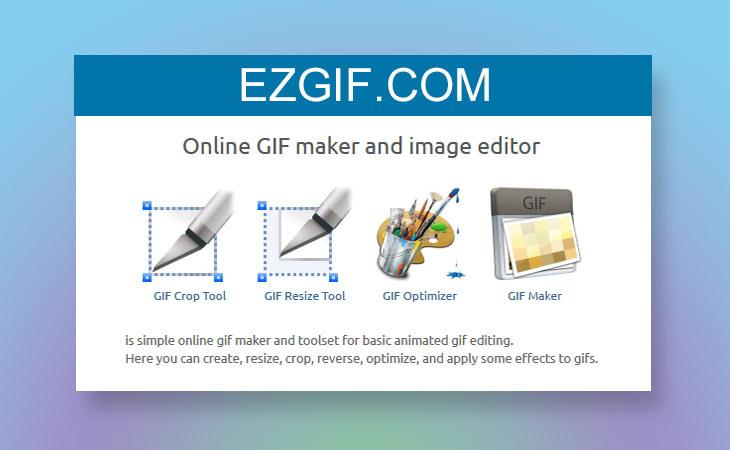 온라인에서 GIF 파일 만들고 편집하기