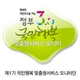 국민  행복 맞춤형서비스 모니터단 뱃지