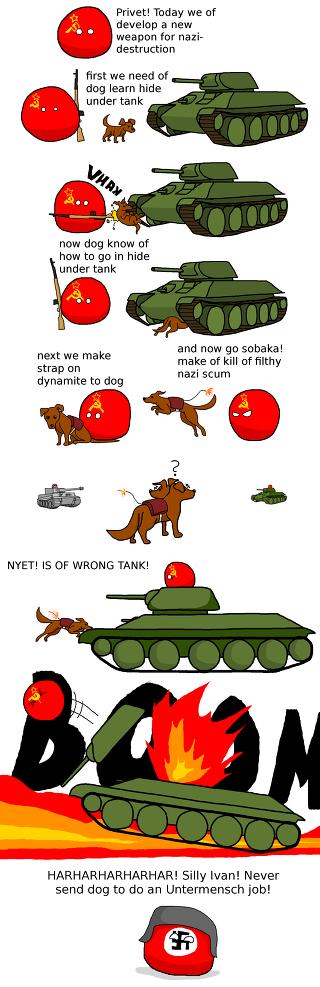 대전차견(자폭견) Anti Tank Dogs