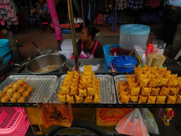 태국 길거리 간식