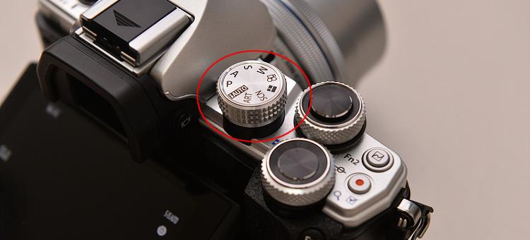 om-d e-m10 mark2 기능선택 다이얼 버튼
