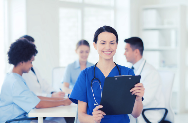 Free Stock Photo JPG file Group of happy doctors at hospital Stock Photo 09
