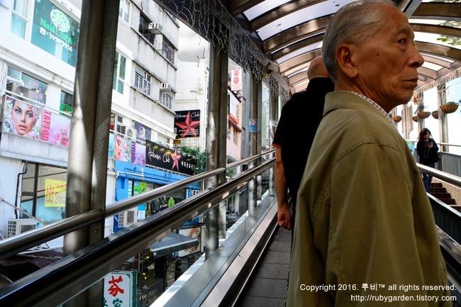 홍콩 여행 / 기네스북에 등재된 세계 최장의 미드 레벨 에스컬레이터(Mid-Level Escalater)