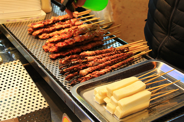 부산여행 부산맛집 부산 길거리음식 부평깡통시장