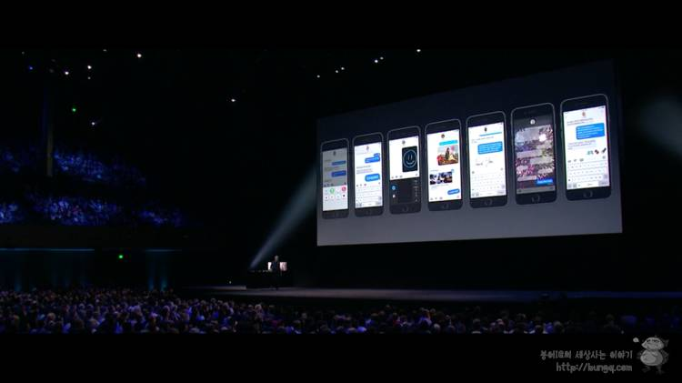 WWDC 2016, 요약, ios, ios10, 기능, 특징