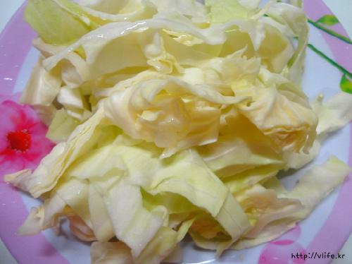 양배추 요리