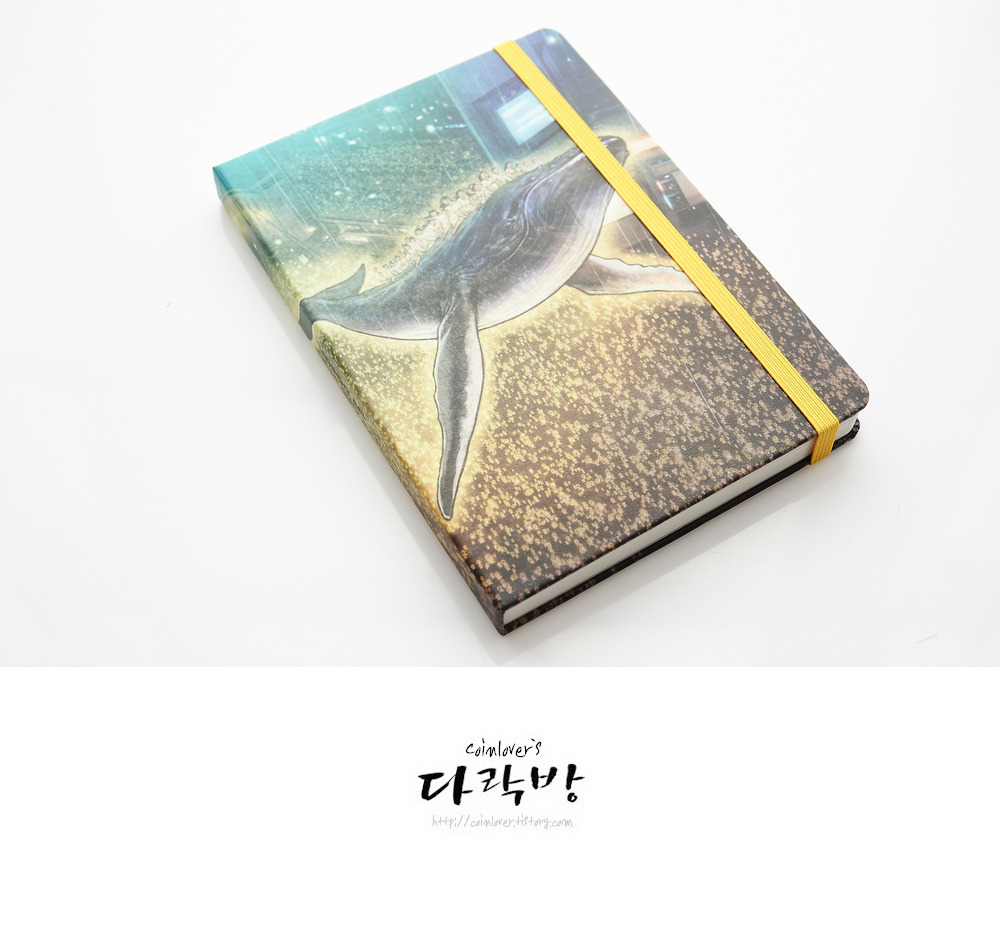 알라딘 굿즈 - 석정현 작가의 고래를 탄 세월호 아이들 노트, 촛불과 노란 리본이 위로가 되길